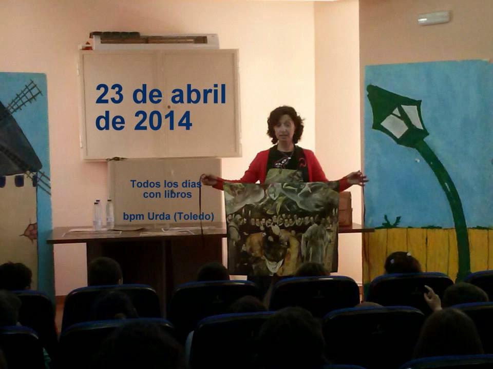 DÍA DEL LIBRO 2014, MILAGROS CARRASCO SANZ 23/04/2014