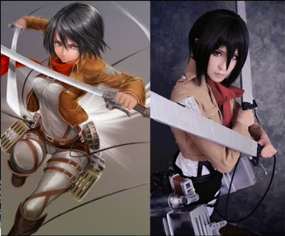 Perfect Mikasa Ackerman Cosplay 07