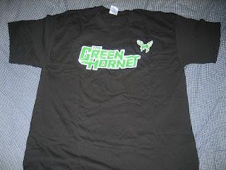 Win The Green Hornet t-shirt from Impulsive Buy