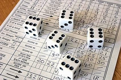 photograph about Printable Yahtzee Score Sheets 2 Per Page called Yahtzee On the net: Printable Yahtzee Rating Sheet