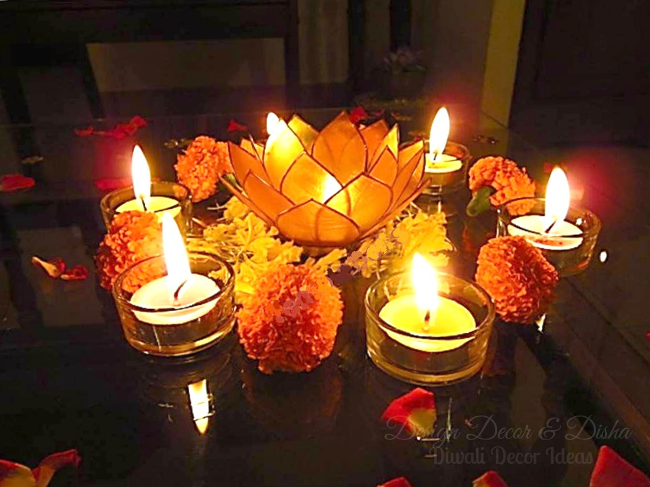 Design decor disha an indian design decor blog for Simple diwali home decorations