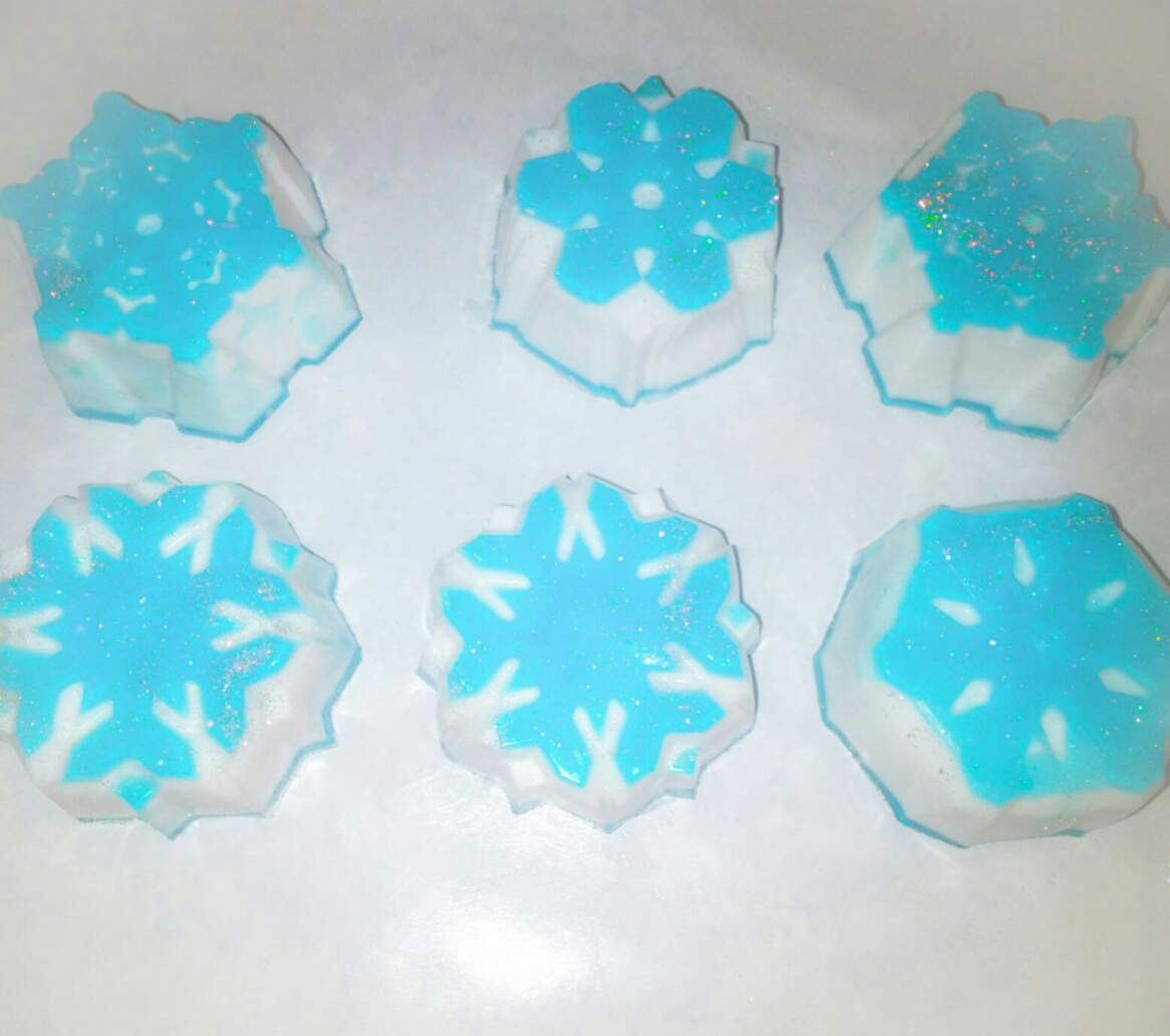 FROZEN SNOWFLAKE SOAP