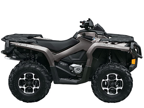 2013 Can-Am Outlander XT 650 ATV pictures. 480x360 pixels