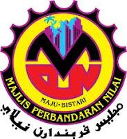 Jawatan Kerja Kosong Majlis Perbandaran Nilai logo