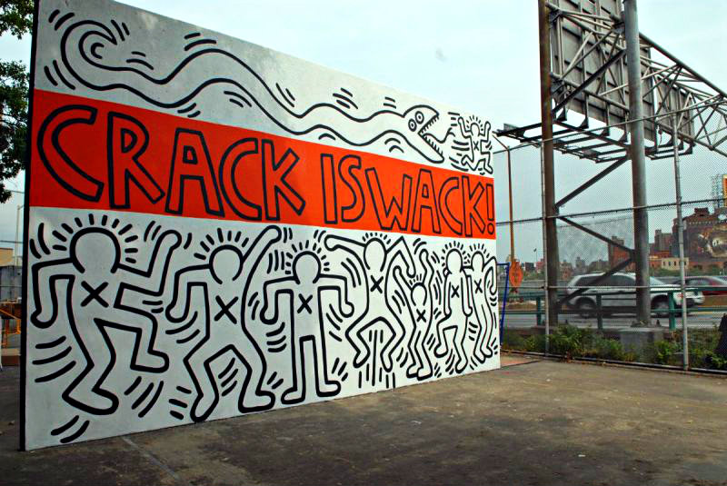 yiweilim, yi wei lim, yiwei lim, keith haring, keith haring art, art basel, art basel hong kong, art basel hk, hk art, crack is wack, haring crack is wack, keith haring crack is wack