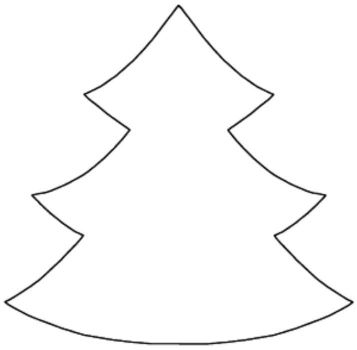 Novedades Paola: Arbolito de Navidad en Tela