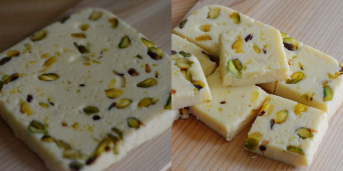 Microwave Indian sweets
