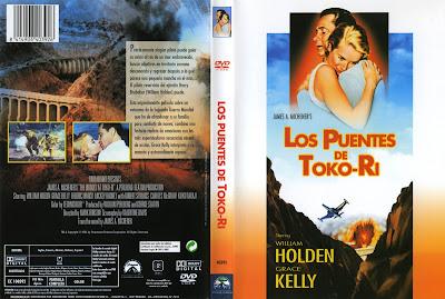 Los puentes de Toko-Ri | 1954 | The Bridges at Toko-Ri, cover, dvd, caratula
