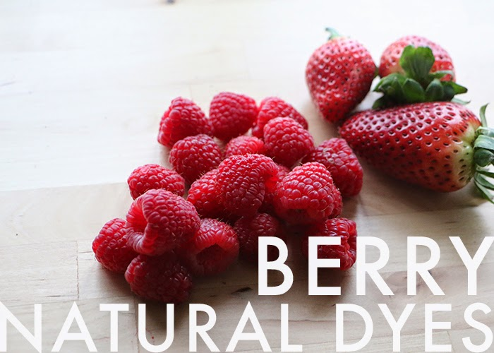 natural berry tie dying
