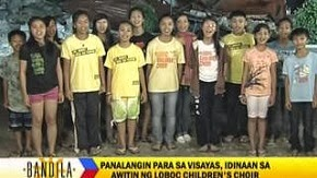 LOBOC  CHOIR  SINGS  FOR  BOHOL  EARTHQUAKE  VICTIMS!