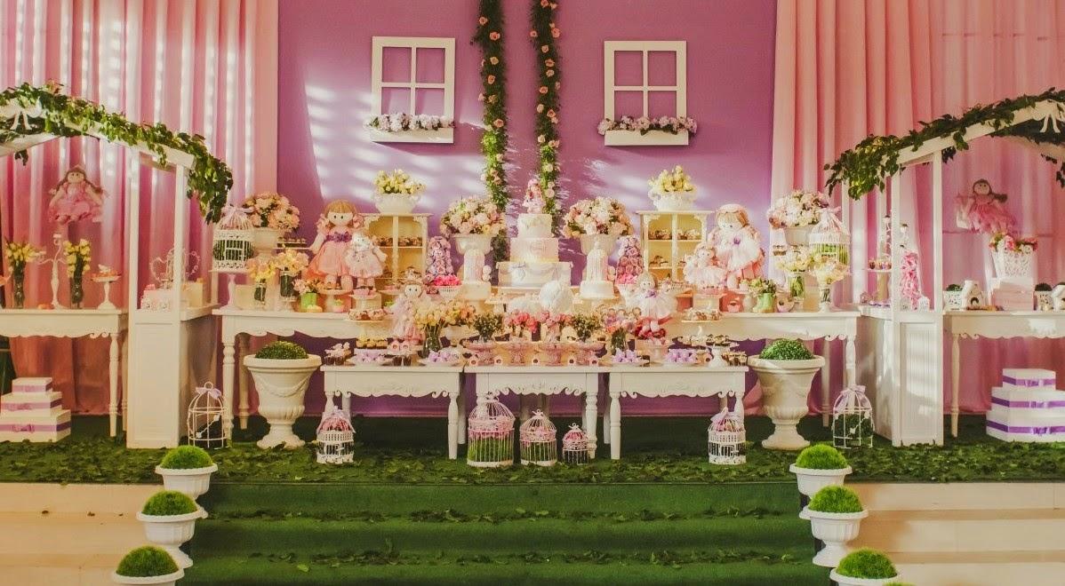 festa infantil jardim das bonecasDecoração da Festa Provençal e