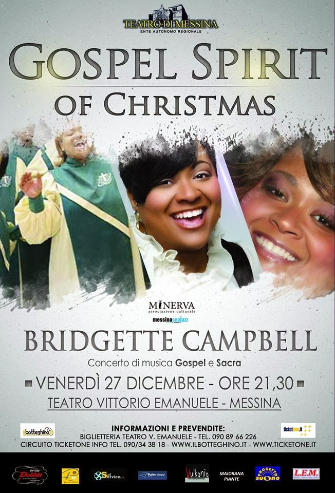 GOSPEL SPIRIT OF CHRISTMAS AL TEATRO VITTORIO EMANUELE DI MESSINA