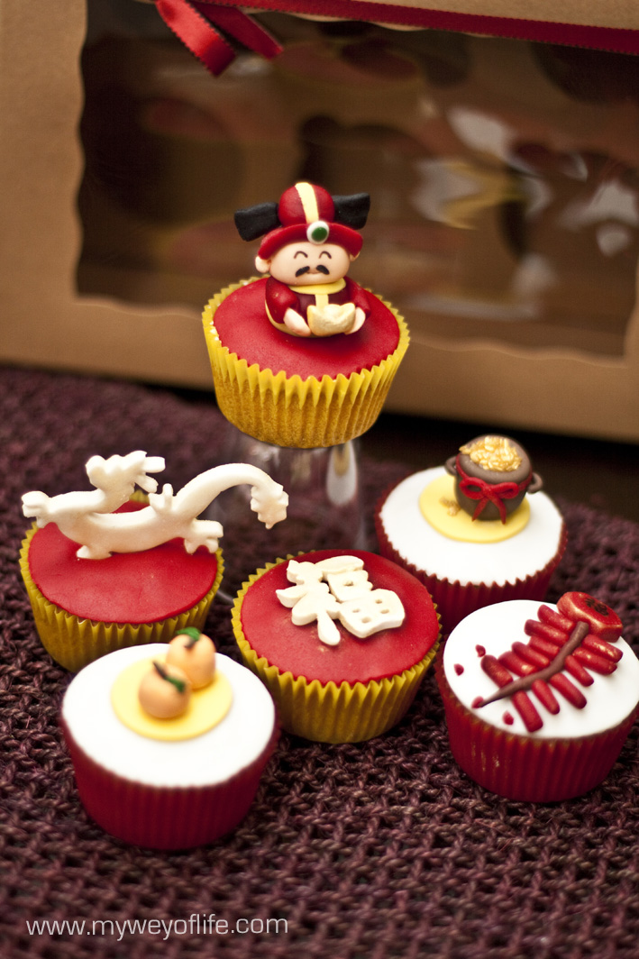 My wey of life chinese new year cupcakes for New home cupcake decorations