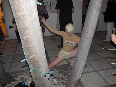 Performance at AQUA ART FAIR 2012