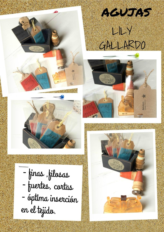 """AGUJAS """"Lily Gallardo"""""""