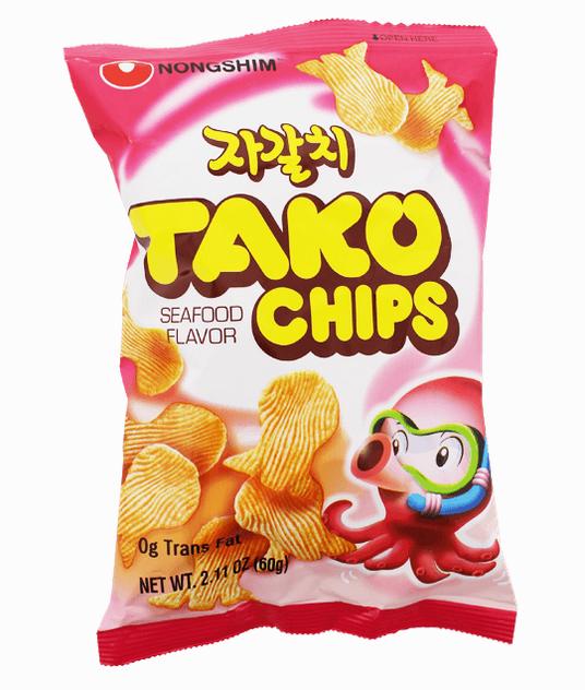 Tako Chips de Nong Shim