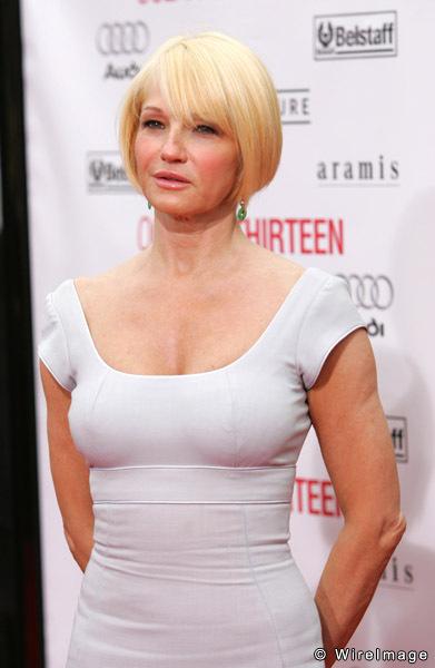 Ellen Barkin Vestido Fashion