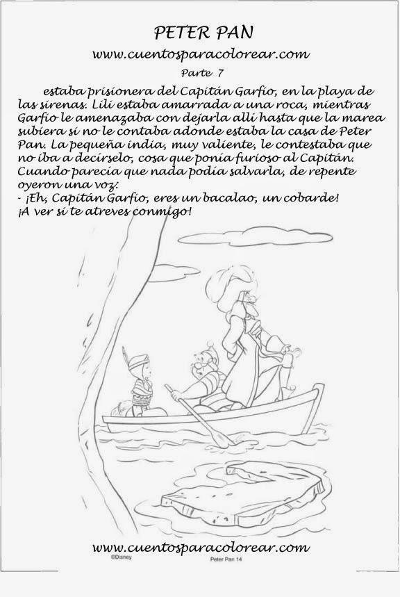 Blog del Primer Ciclo: Cuentos para colorear:Peter Pan