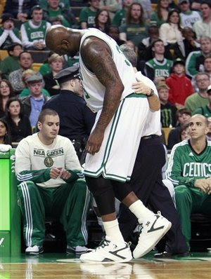Shaquille O'Neal, Shaq Injury, Celtics News