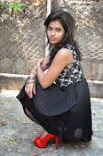 Model Bhargavi Photos at Pochampally Ikat art mela launch-thumbnail-16