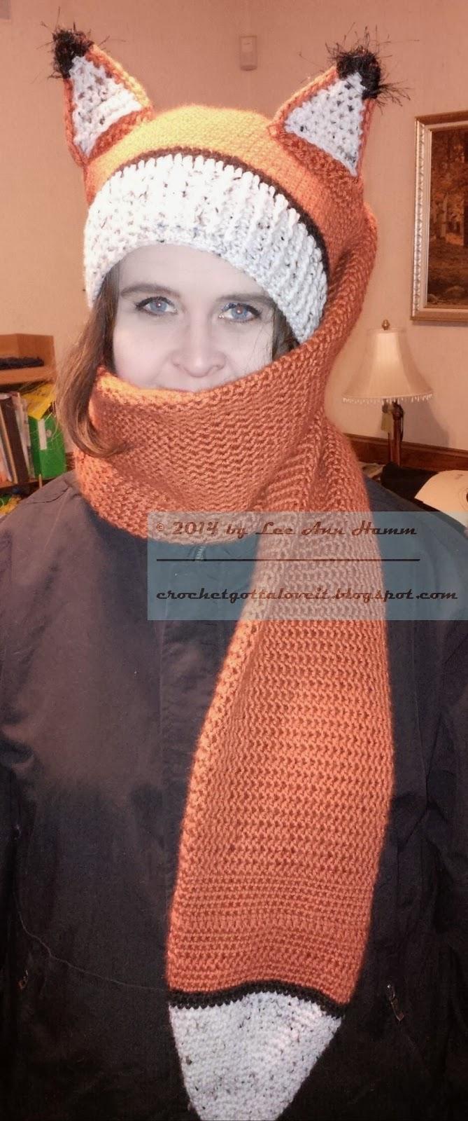 Crochet...Gotta Love It! Blog: Fox Scarf