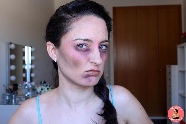 Mixed Up Makeup Challenge maquillaje azar makeupartist zombie halloween