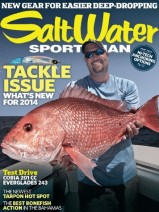 Salt Water Sportsman Magazine cover