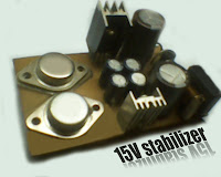 15 volt stabilizer schematic