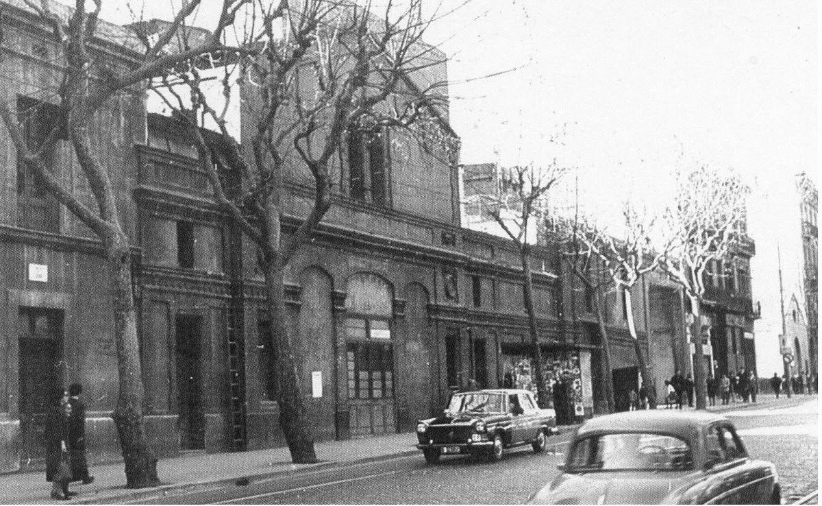 Rails i ferradures sants sabater y mill s - Calle borrell barcelona ...