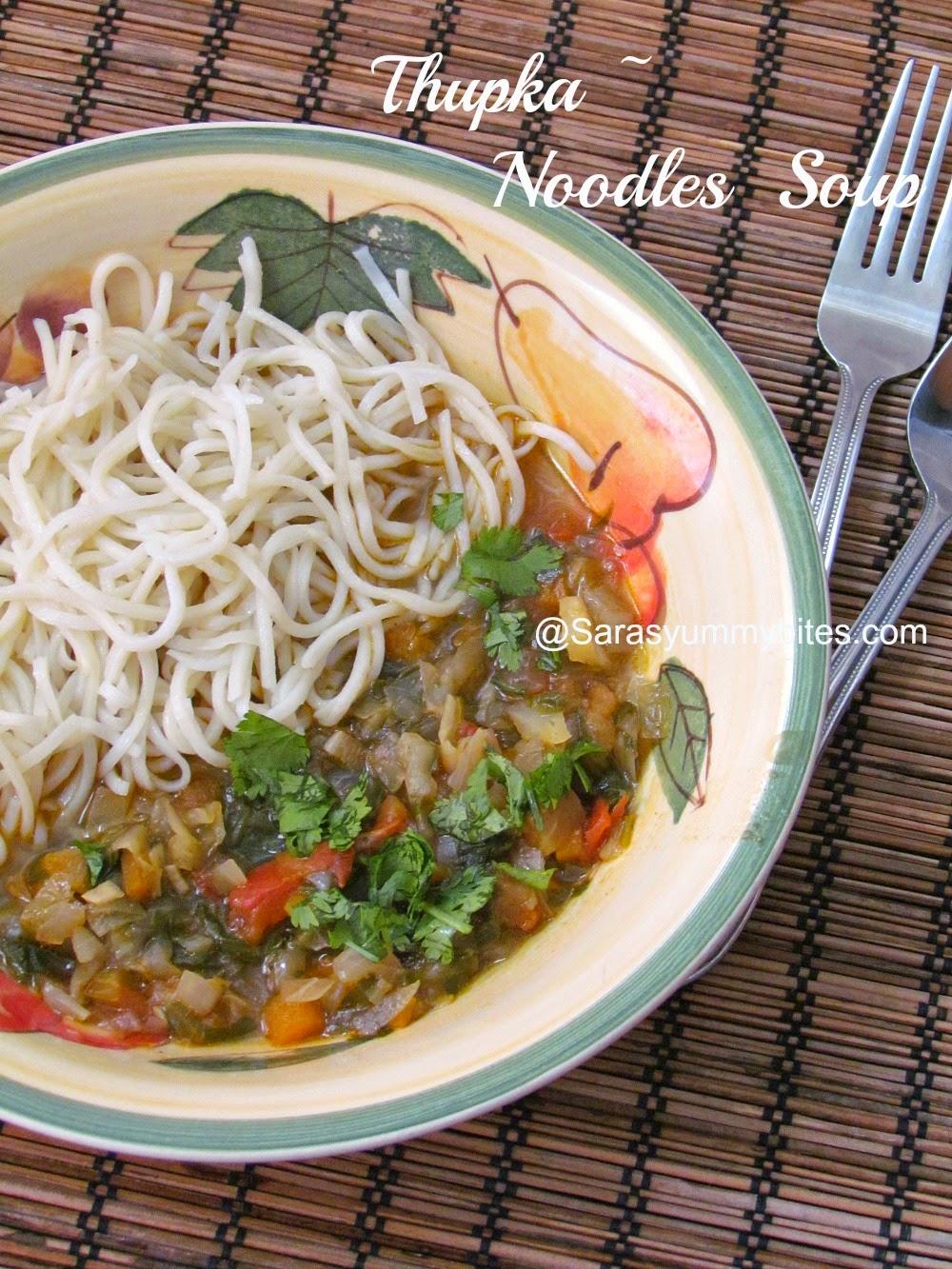 Thupka noodles soup of arunachal pradesh sarasyummybites for Arunachal pradesh cuisine