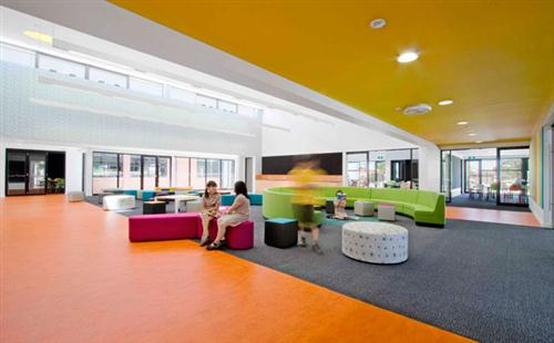 Colorfull Schools Interior Design