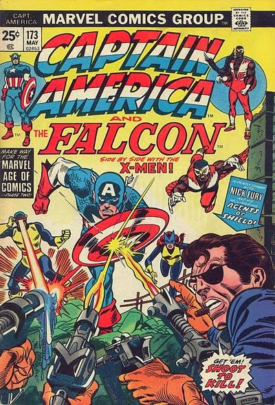 Captain America and the Falcon #173, X-Men