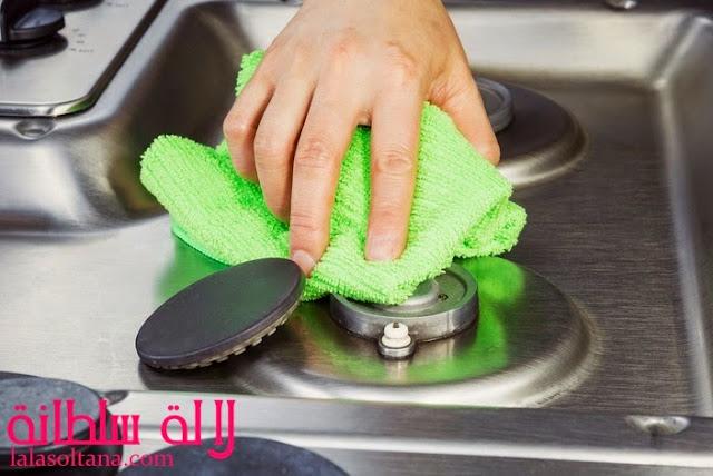 تنظيف وتلميع البوتجاز
