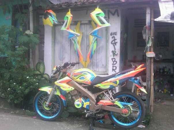 Warna Modifikasi Yamaha