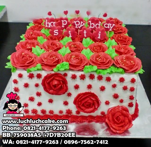 Kue Tart Mawar Daerah Surabaya - Sidoarjo