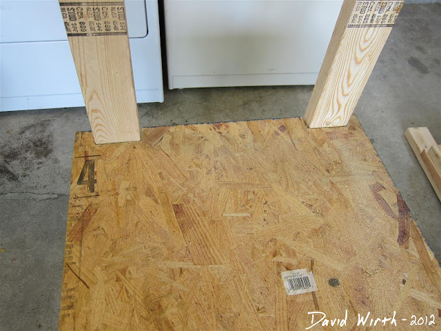 detail for wood oriented strand board shelf, how to make a wood shelf