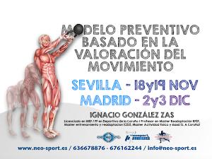 Sevilla 18-19/11       Madrid 2-3/12