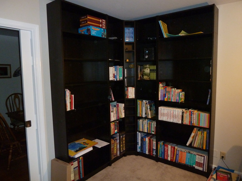 Billy Benno Corner Bookshelves IKEA Hackers IKEA Hackers