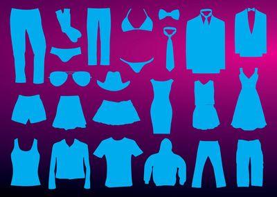 洋服のフリー素材