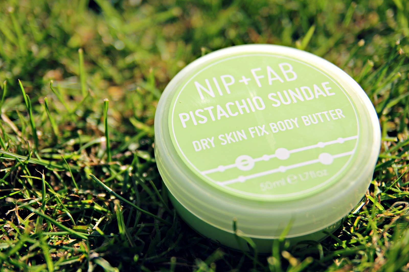 nip fab s pistachio sundae body butter is rich and