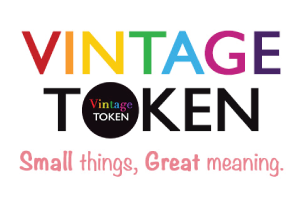 Vintage Token Advertisement Banner