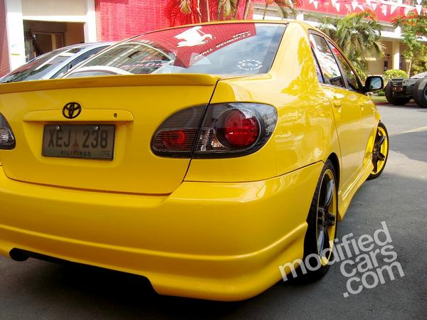 Modified Cars: Modified Toyota Corolla 2008