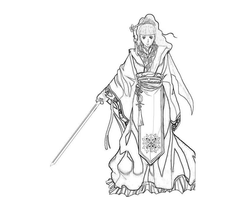 youko-nakajima-character-coloring-pages