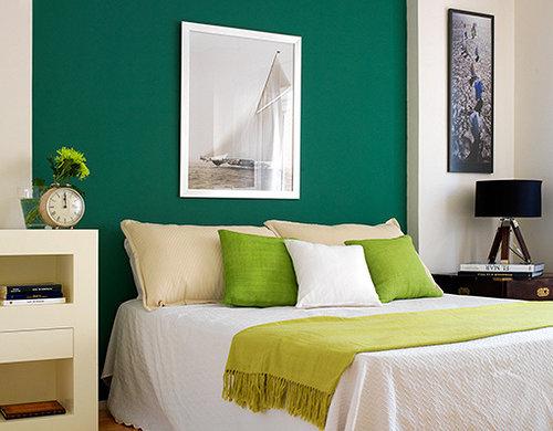 Margarida ruivo pinturas pintar uma parede de cor diferente - Color pintura pared ...
