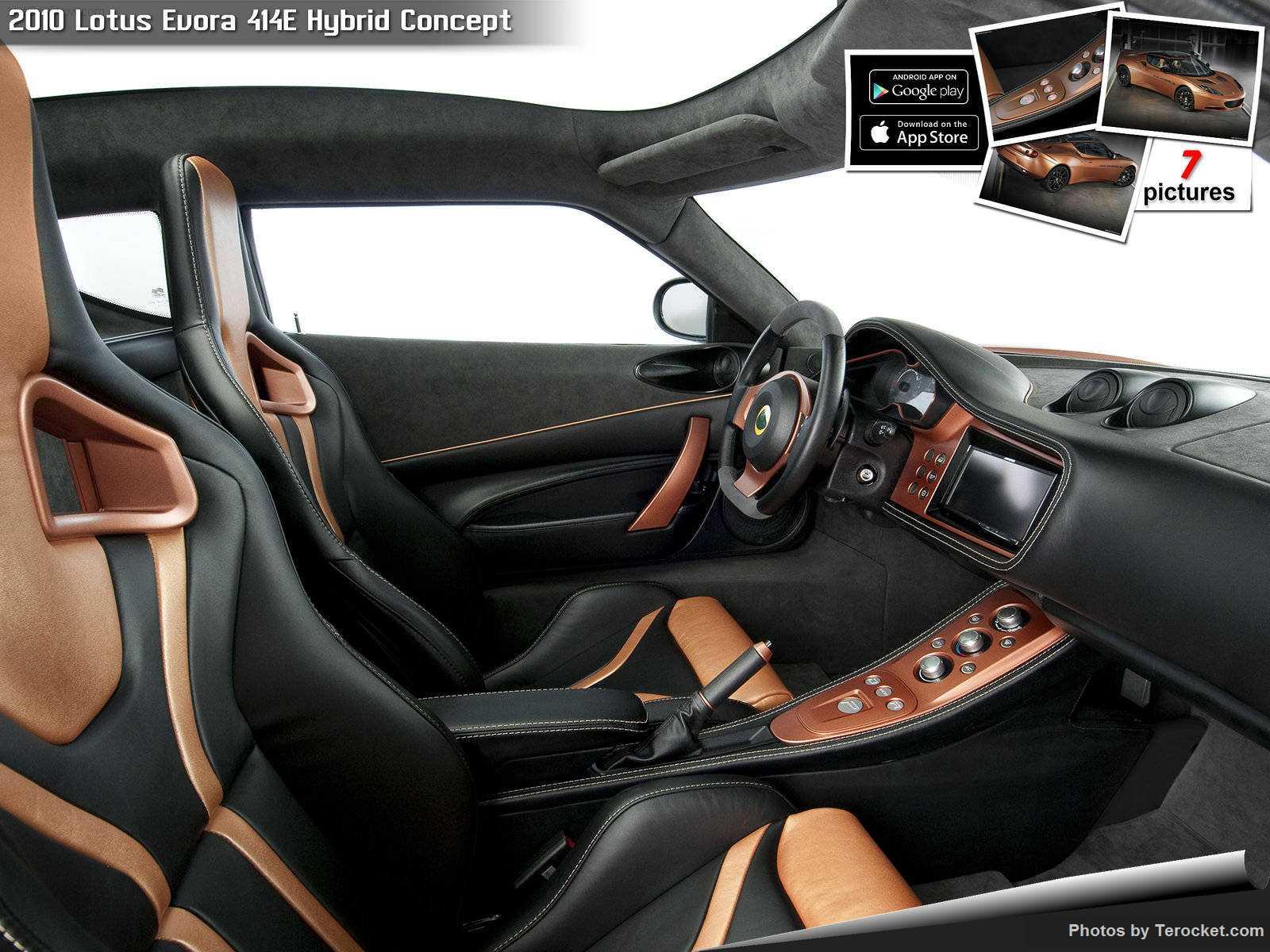 Hình ảnh siêu xe Lotus Evora 414E Hybrid Concept 2010 & nội ngoại thất