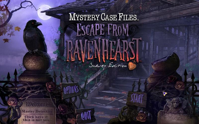 Mystery case files 8 escape from ravenhearst ce v3 key