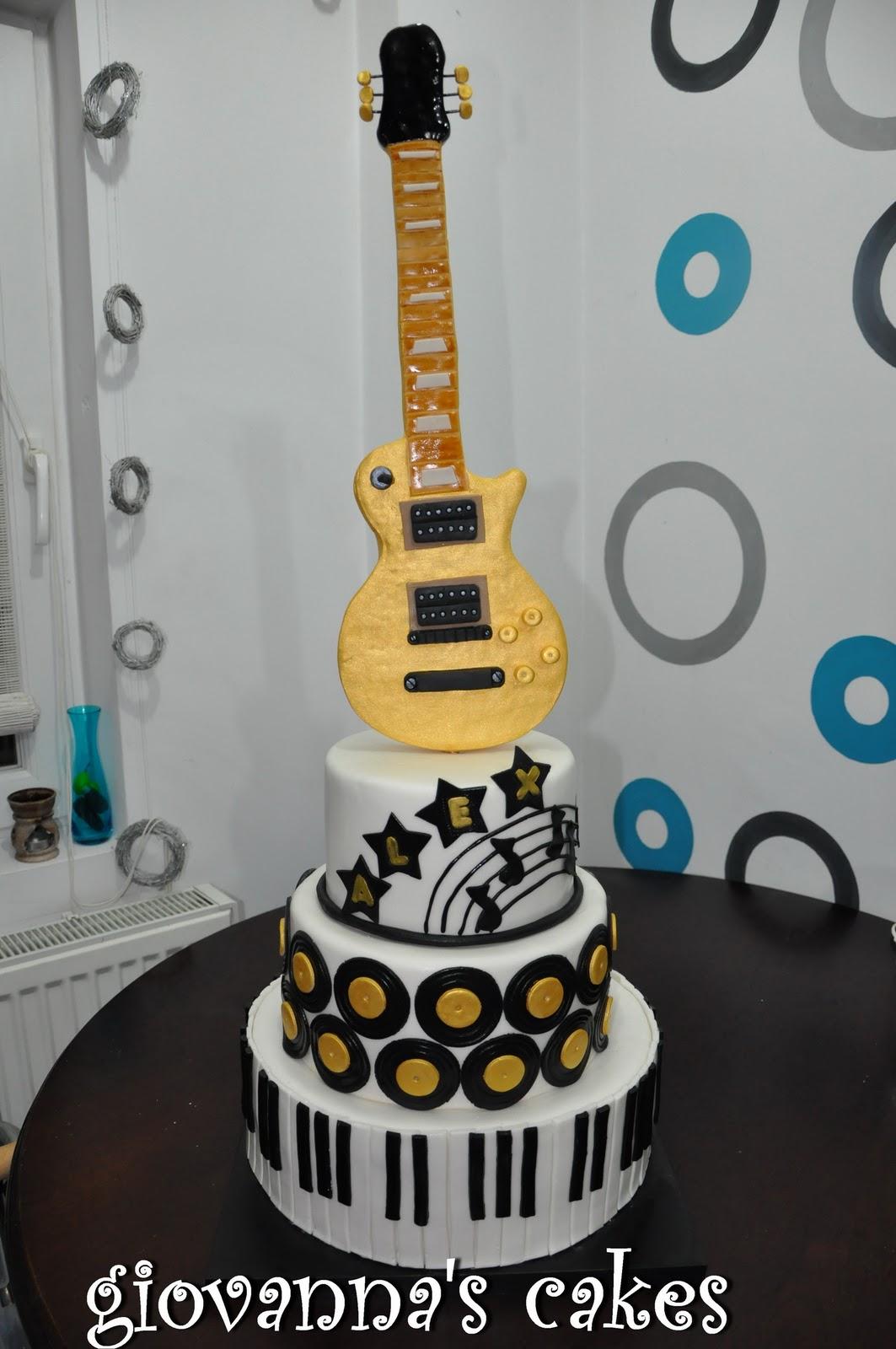 Giovannas Cakes Music Cake