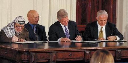 Билл Клинтон и Биньямин Нитаньяху