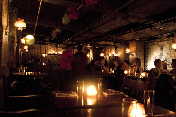 Dinner at La Esquina   Soho   photo - Marika Järv