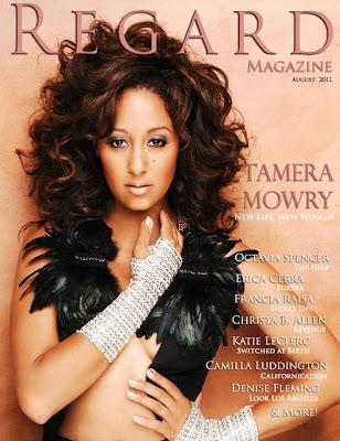Tamera Mowry en couv' de Regard Magazine